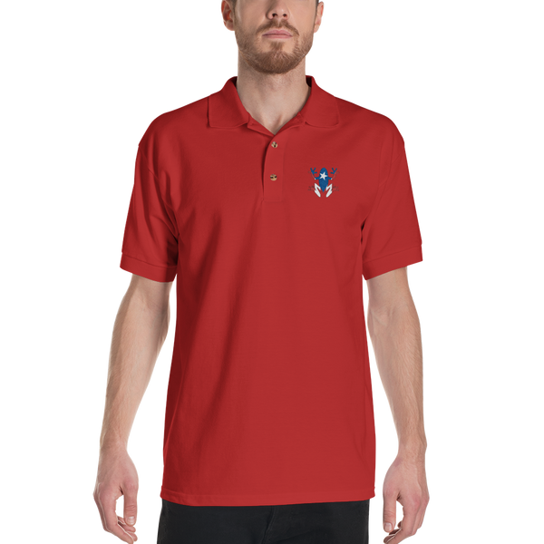 PR Coquí Embroidered Polo Shirt