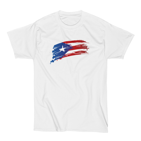 PR Flag Sketch - 2XL-6XL T-Shirt