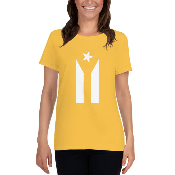Puerto Rico white flag - Women's t shirt