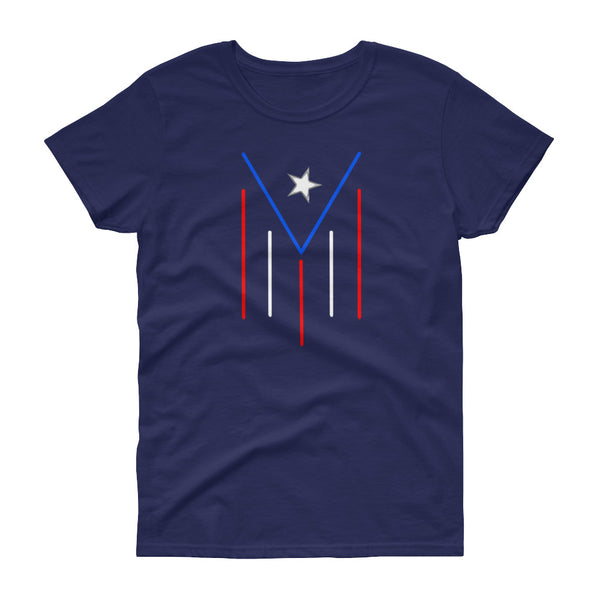 Women's PR flag Stroke - t-shirt