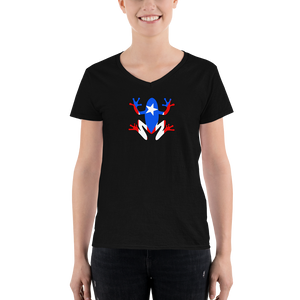 Women's Coqui V-Neck Shirt