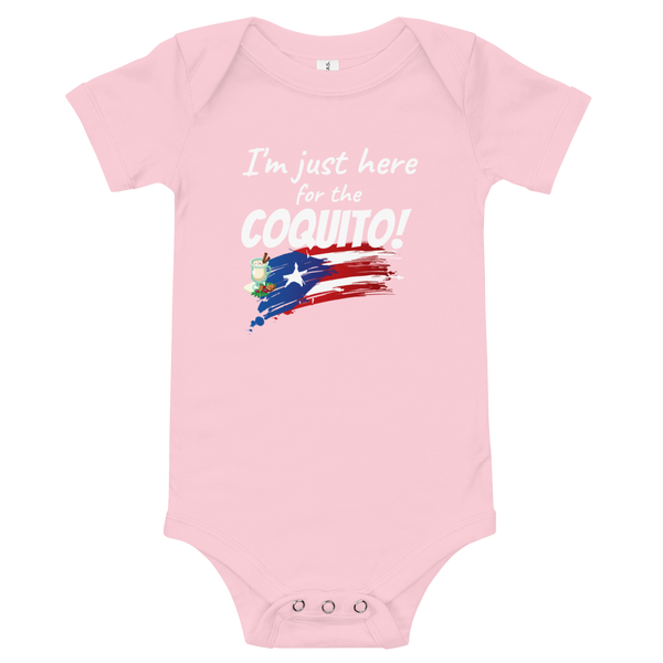 Here for the Coquito - Baby Bodysuit