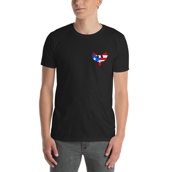 PR Eagle (front-back) Unisex T-Shirt