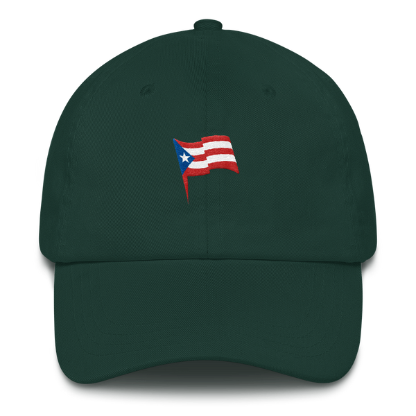 puerto rico green hat
