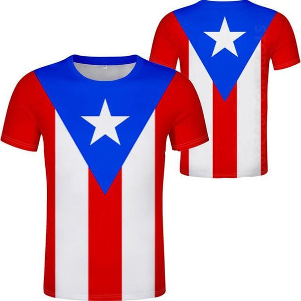 PUERTO RICO all-over flag Shirt
