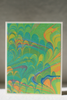 Marbled Card, Green