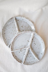 Peace Sectional Plate, Speckled