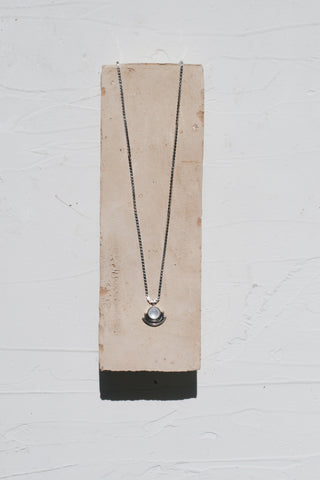 Mother of Pearl Arc Necklace