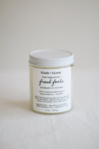 Fresh Feels Rich Body Scrub