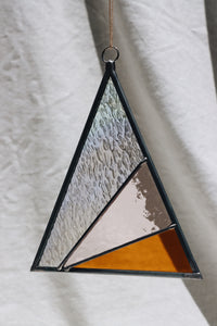 Iridescent Triangle Suncatcher
