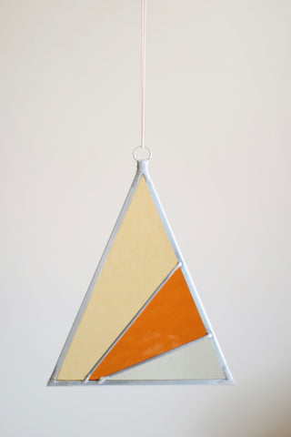 Suncatcher, Single Tall Triangle
