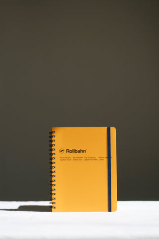 Rollbahn Yellow Notebook