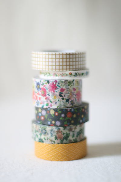 Washi Tape, Patterned