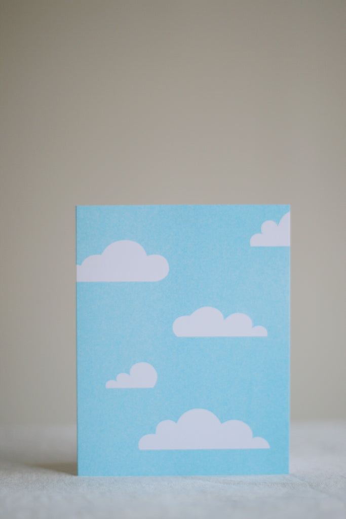 In the Clouds Card