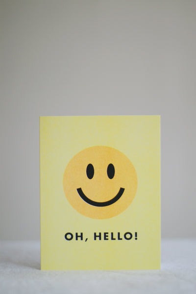 Oh, Hello! Card