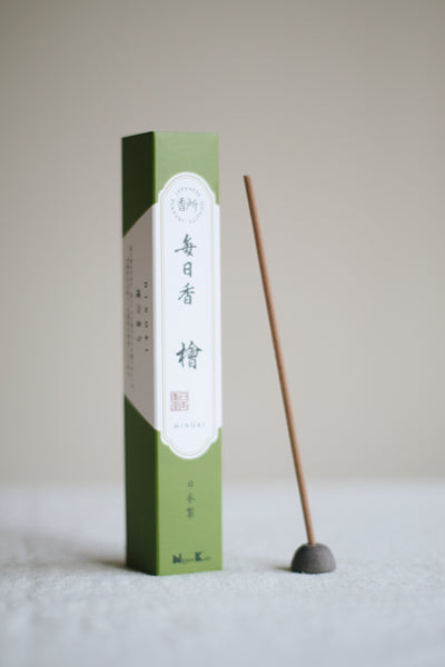 Mainichi-Koh Hinoki Incense
