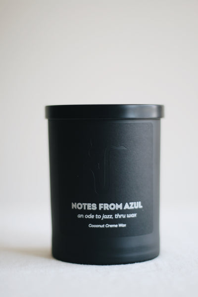 Notes from Azul Candle