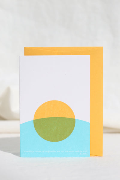 Here Comes the Sun & Moon & Truth Card