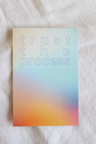 Trust the Process Card