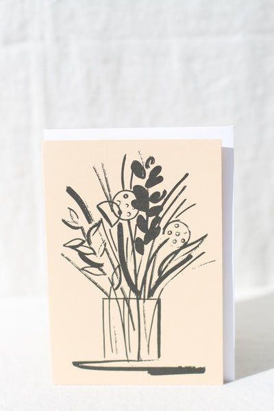 Vase with Stems Card