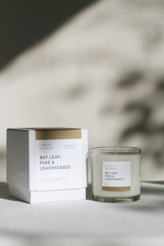 Bay Leaf, Pine & Lemongrass Candle
