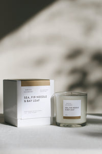 Sea, Fir Needle & Bay Leaf Candle