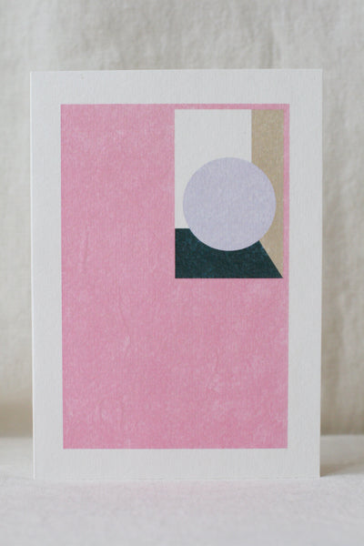 Treasure Card, Pink