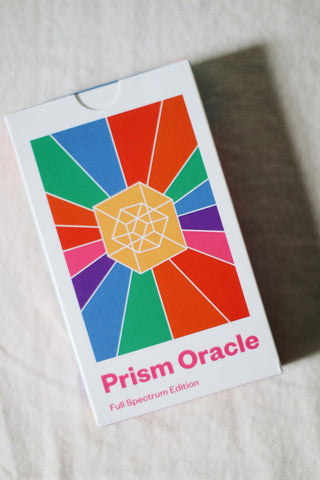 The Prism Oracle Deck & Guidebook
