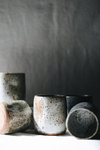 Thumbprint Ceramic Cup