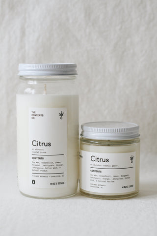 Citrus Botanical Candle