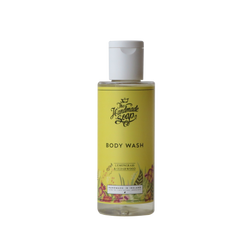 All Natural Handmade Chemical Free Lemongrass & Cedarwood Essential Oil Body Wash Shower Gel Travel Size
