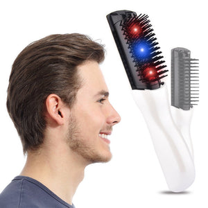 Electric  Massage comb with vibration mode. Household Battery Massage Comb