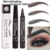 DOULEQI 5 Colors 3D Magic Waterproof Eyebrow Pencil Liner