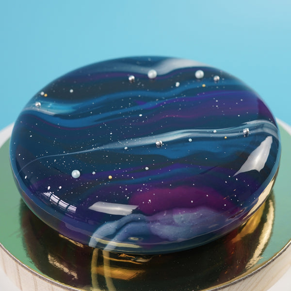 Signature Galaxy Glazed Cake (October)