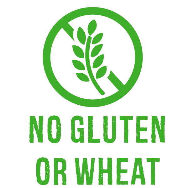 No Gluten or Wheat