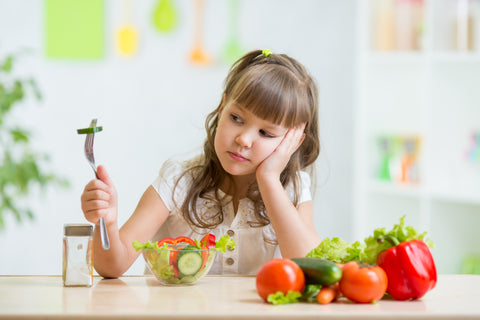 healthy food, girl, salad, kid, wellvites