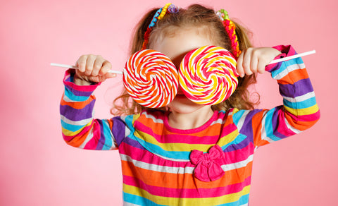 girl, lollipop, kid, sugar problem, healthy food, wellvites