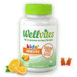 WellVites Kids' Immune Sugar Free Gummies