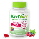 Wellvites Beauty- Hair,Skin & Nails Sugar Free Gummies