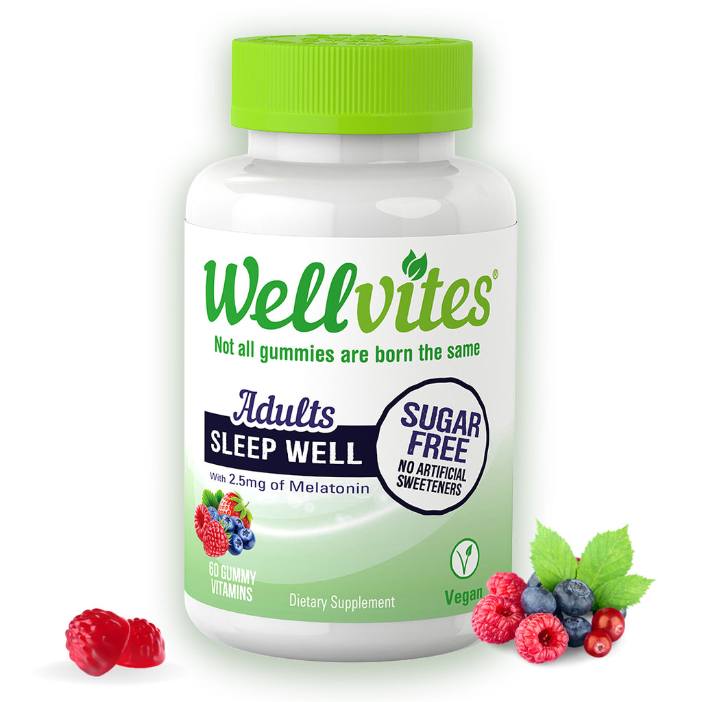 Wellvites Sleep Well Sugar Free Gummies