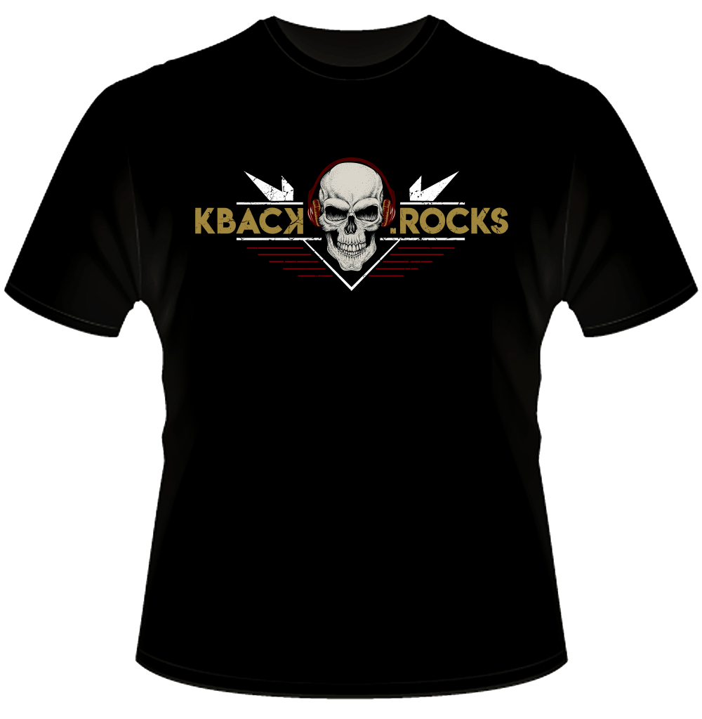 KBACK Short Sleeve Black T-Shirt