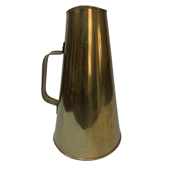 Vintage Brass Megaphone | Wall Decor