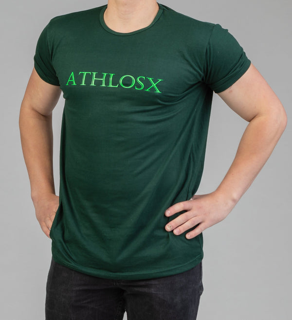 Essential Short Sleeve Forest Green (Light)