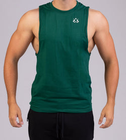 Essential Sleeveless Forest Green
