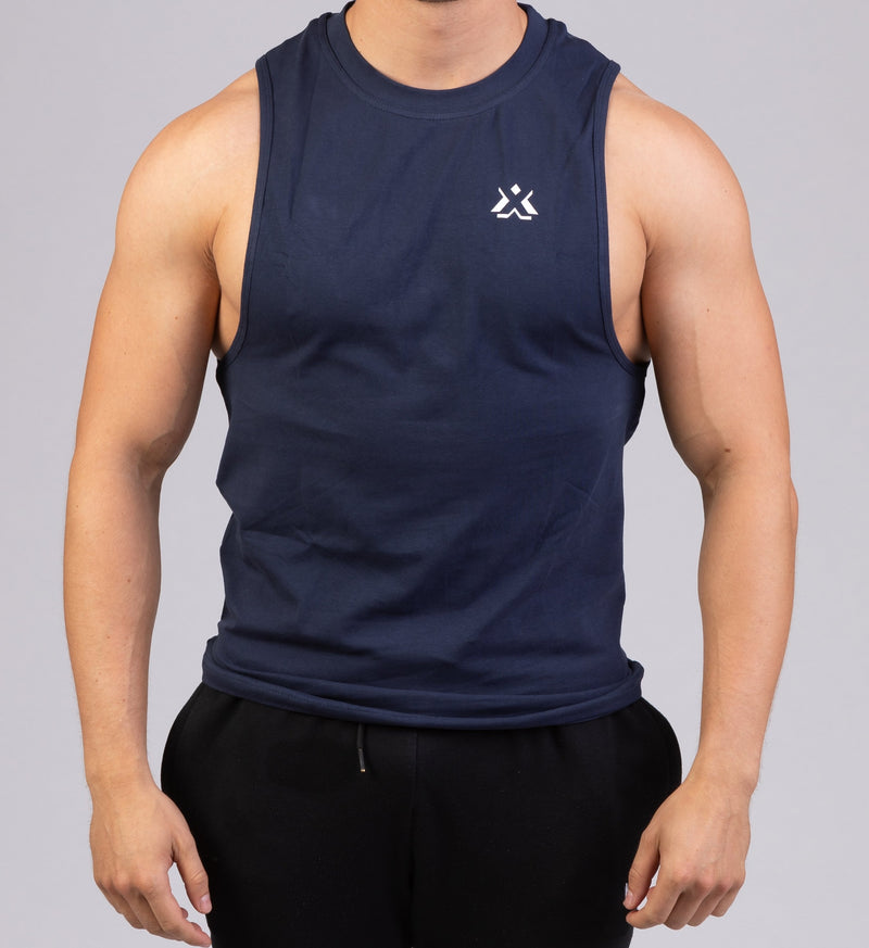 Essential Sleeveless Navy Blue