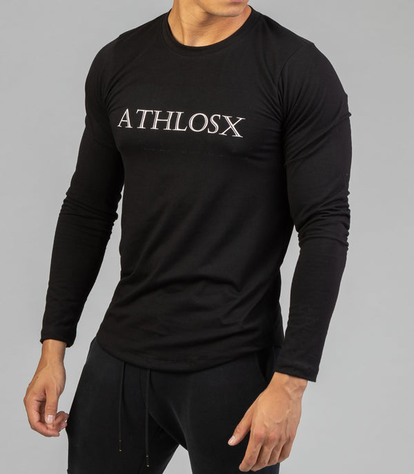 Essential Long Sleeve Black