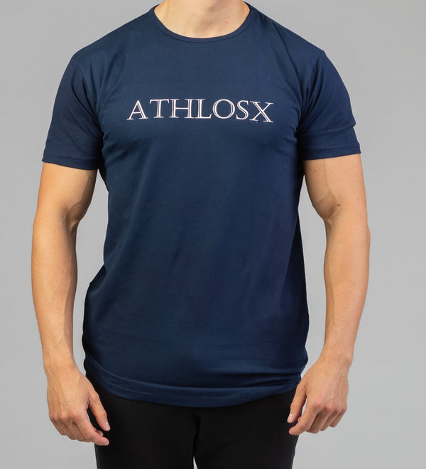 Essential Short Sleeve Navy Blue