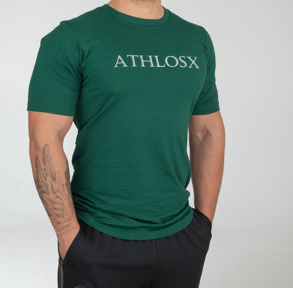 Essential Short Sleeve Forest Green