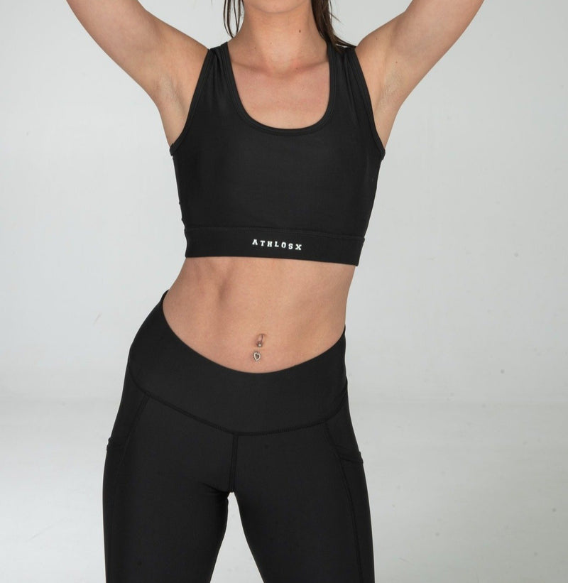 Energy Sport Bra Black
