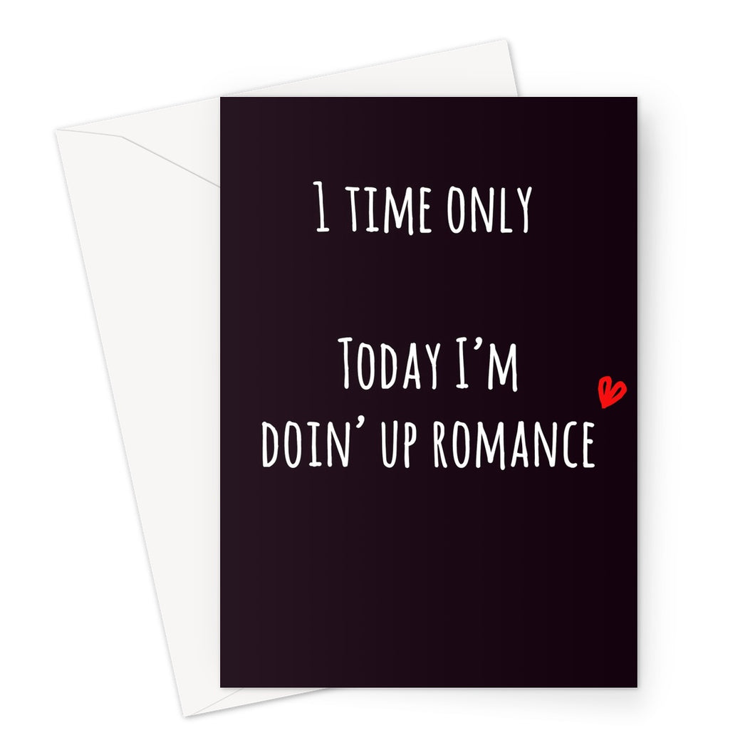 Doin' Up Romance Valentine's Card
